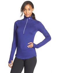 Under Armour | Purple Fly Fast Top | Lyst