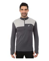 Asics | Gray Thermopolis® 1/2 Zip for Men | Lyst