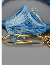 Aurelie Bidermann - Blue Do Brasil Bracelet - Lyst