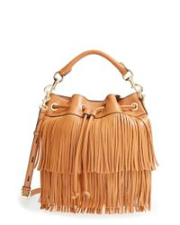 Rebecca Minkoff - Brown 'Fiona' Bucket Bag - Lyst