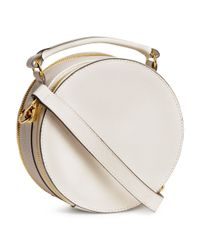 H&M - White Round Shoulder Bag - Lyst