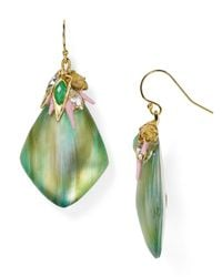 Alexis Bittar - Blue Pastel Punk Cluster Drop Earrings - Lyst