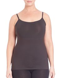 Spanx | Black Trust Your Thinstincts Plus-size Camisole | Lyst