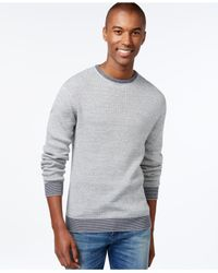 Vince Camuto - Blue Men's Core Marled Sweater for Men - Lyst