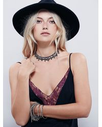 Free People | Black Intimately Womens Jonesie Slip | Lyst