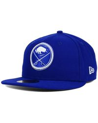 KTZ - Blue Buffalo Sabres C-dub 59fifty Cap for Men - Lyst
