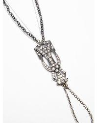 Free People - Metallic Deco Stone Handpiece - Lyst