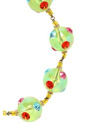 Sveva Collection - Yellow Meteora Mobile Necklace - Lyst