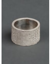 Tobias Wistisen | Metallic Branch Ring for Men | Lyst