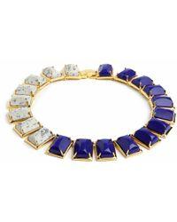 Lele Sadoughi | Blue Gardenia Necklace, Assorted Colors | Lyst
