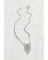 Urban Renewal | Metallic Ax + Apple Triad Necklace | Lyst