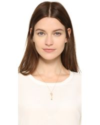 Aurelie Bidermann | Metallic Wheat & Key Necklace | Lyst
