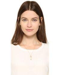 Aurelie Bidermann - Metallic Wheat & Key Necklace - Lyst