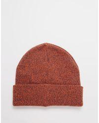 Jack & Jones - Red Knit Beanie for Men - Lyst