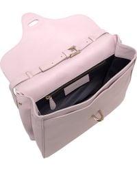 Balenciaga - Pink Tube Square Bag - Lyst
