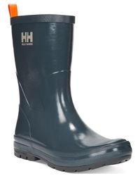 Helly Hansen | Gray Women's Midsund Rain Booties | Lyst