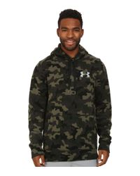 Under Armour | Green Ua Rival Cotton Novelty Hoodie for Men | Lyst