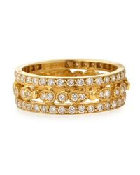 KC Designs - Metallic 14k Yellow Gold Diamond Band - Lyst