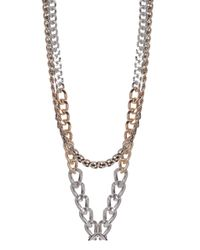 Max Mara - Metallic Bligny Necklace - Lyst