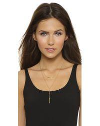 Chan Luu | Metallic Layered Necklace | Lyst