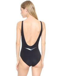 Lucas Hugh - Core Performance Swimsuit - Black - Lyst