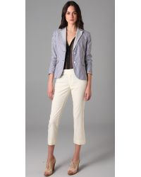 Rag & Bone - Blue Nancy Stripe Blazer - Lyst