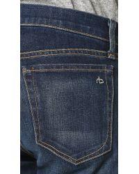 Rag & Bone - Blue Standard Issue Fit 2 Jeans for Men - Lyst