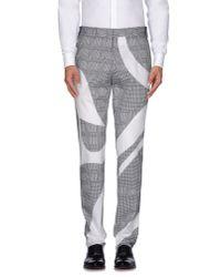 Alexander McQueen - Black Casual Trouser for Men - Lyst