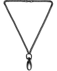 Undercover | Black 04N05 Brass Necklace for Men | Lyst