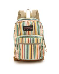 Jansport - Multicolor Right Pack Expressions Backpack - Multi Weave Stripe - Lyst