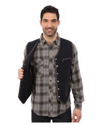 Woolrich - Blue Utility 12 Vest for Men - Lyst