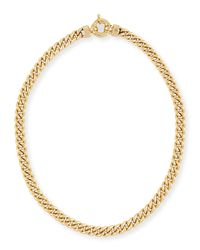 Rina Limor | Metallic New Essentials 18k Gold Link Necklace | Lyst