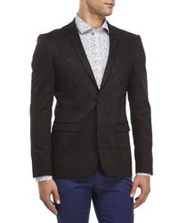 Moods Of Norway - Black Stein Tonning Jacquard Jacket for Men - Lyst