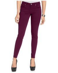 Style & Co. | Purple S&co. Low-rise Skinny Jegging | Lyst