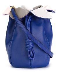 Loewe | Blue Flamenco Micro Petal Shoulder Bag | Lyst
