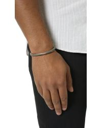 Cause and Effect | Gray Painted Copper Cuff for Men | Lyst