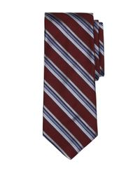 Brooks Brothers | Red Triple Stripe Tie for Men | Lyst