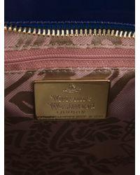 Vivienne Westwood - Blue Monaco Patent-Leather Shoulder Bag - Lyst