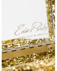 Edie Parker   Metallic 'flavia Solid' Clutch   Lyst