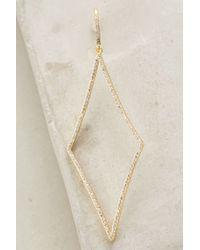 Melanie Auld | Metallic Sizzled Diamond Drops | Lyst