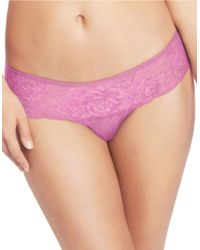 Wacoal - Purple So Sophisticated Hipster Panties - Lyst
