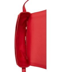 Tory Burch - Red Serif T Saddle Bag - Lyst