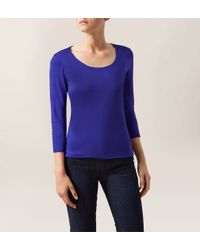 Hobbs | Purple Sophie Top | Lyst