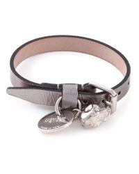 Alexander McQueen - Metallic Skull Buckled Bracelet for Men - Lyst