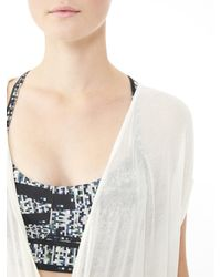 Alternative Apparel | White Backstage Viscose Crepe Wrap | Lyst