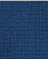 Jones New York | Blue Checked Textured Walker Coat | Lyst