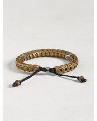 John Varvatos | Multicolor Brass Snake Bone Vertebrae Bracelet for Men | Lyst