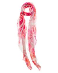Mangrove | Pink 'Carmen' Scarf | Lyst