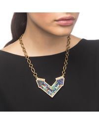 Lulu Frost | Multicolor Petra Pendant Necklace | Lyst
