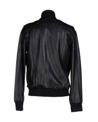 Surface To Air Black Jacket for men
